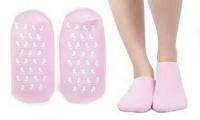 Многоразовые увлажняющие гелевые носочки Spa