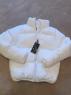 Куртка дутик стойка ворот white BN DIM T124