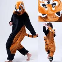 Кигуруми для взрослых пижамка енот