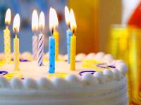Свечи на день рождения упаковке 12 шт