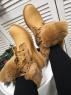Ботинки на меху 8660-5 песочные LSHI