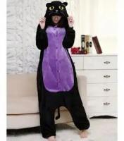 Кигуруми для взрослых пижамка Ночной кот