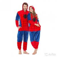 Кигуруми для взрослых пижамка человек паук