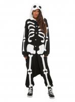 Кигуруми для взрослых пижамка скелет