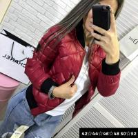 Куртка стеганая PP бордо M116
