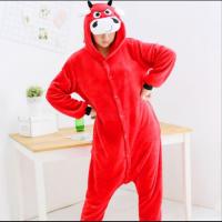 Кигуруми для взрослых пижамка Красный бык
