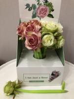 Гелевая ручка С цветком нежная Роза ZF2088