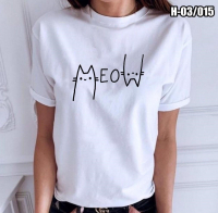 Футболка MeoW белая SV