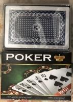 Карты для покера POKER CARDS в пластиковой упаковке