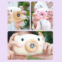 Bubble camera машинка для мыльных пузырей