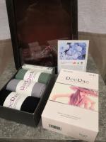 Носки антибактериальные 3 пары в коробке с мылом 37-41