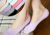 Женские невидимые носки разные