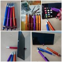 Ручка 3 в 1 подставка для смартфона и стилус