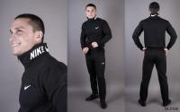 Мужской костюм на молнии NK черный