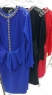 Платье с цепочкой по спине 2423