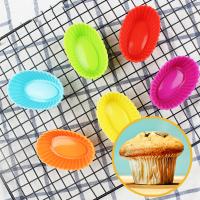 Овальные формочки для кексов набор из 6 штук