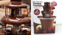 Шоколадный Фонтан Chocolate Fondue Fountain Mini ibr