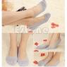 Ажурные эластичные носочки-следы 187 ZZX001