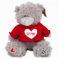 Мишка Тед в красном свитере 26 см