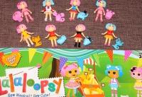 Игровой набор Куколки Лалалупси с питомцем 8 штук