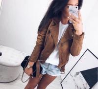 Куртка спандекс песочная S30