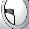Кольцевая светодиодная лампа со штативом для профессиональной съемки