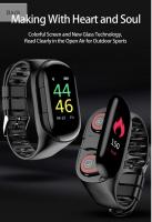 Смарт браслет с наушниками 2 в 1 Smart bracelet with TWS M 1