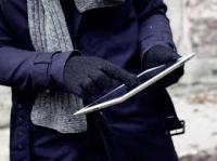 Мужские утепленные сенсорные перчатки TECH TOUCH