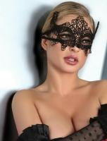 Модная кружевная маска 014