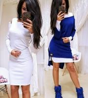 Двойка платье и туника яр-синяя RH