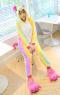 Кигурими для взрослых пижамка Единорог радужная