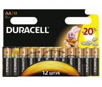 Комплект из 12 батареек тип АА