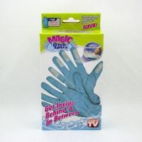 Перчатки с щеточками