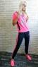 Кеды дайвинг 1350-15 ярко-розовые LSHI