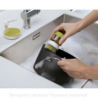 Щетка для мытья посуды JESOPB с дозатором мыла