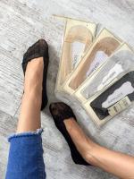 Ажурные эластичные носочки-следы 187 разные