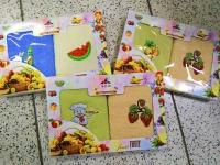 Набор полотенец для рук 2 шт 30х60 фрукты