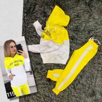 Детский JUNIOR костюм GHEENLIGHT желтый верх XI
