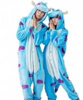 Кигуруми для взрослых пижамка Корпорация монстров