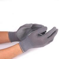 Нейлоновые перчатки с пвх точками (12 пар)