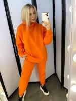Костюм утепленный с капюшоном Оранжевый KH
