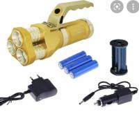 Ручной алюминиевый фонарь прожектор 633-T6