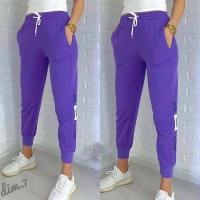 Спортивные брюки Club фиолетовые DIM