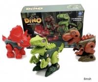 Конструктор динозавры DINO ASSEMBLING SERIES