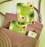 Очищающие салфетки для снятия макияжа с маслом авокадо Bioaqua 1 штука
