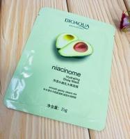 Ультратонкая витаминная маска с гиалуроновой кислотой Авокадо