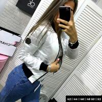 Куртка стеганая PP белая M116