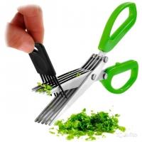 Ножницы для зелени c 5 лезвиями Ibr Новая цена