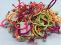 Набор из 5 цветных резиночек для волос