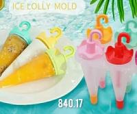 Форма для мороженого Зонтики на 4 порции
